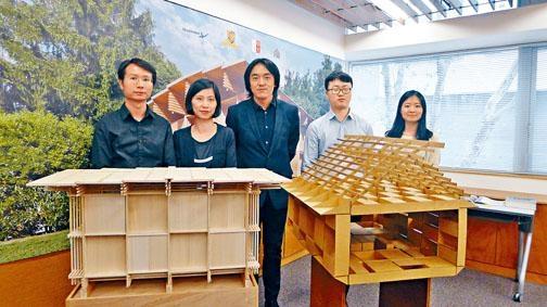 中大建築學系副教授朱競翔設計的「斗室」,獲邀參加威尼斯國際建築雙年展。