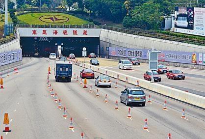 東區海底隧道將於下周日(八月七日)由政府正式接收。