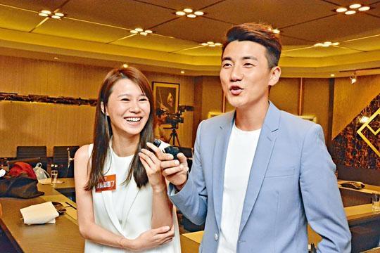洪永城跟黃翠如在新劇中演夫妻。