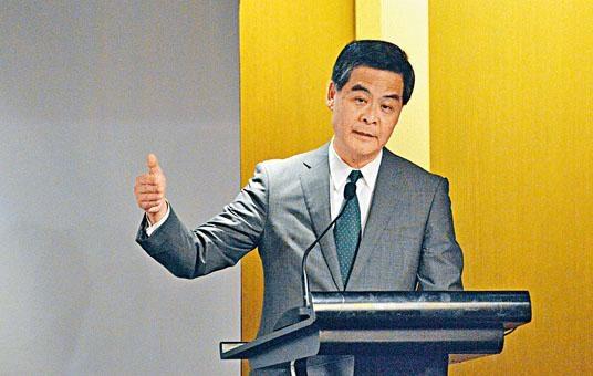 梁振英的律師信稱有關指控阻礙他行使競逐連任的權利。