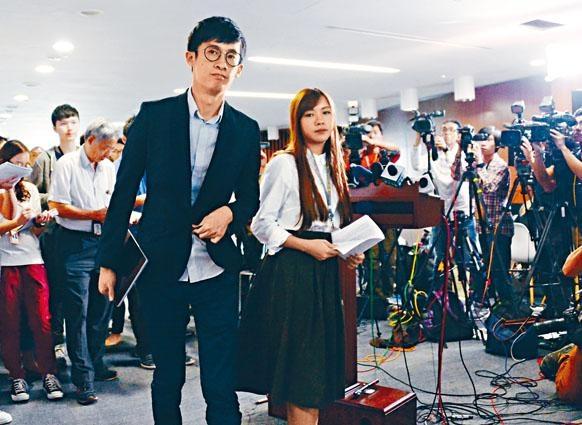 梁頌恆與游蕙禎的宣誓司法覆核未宣判,人大常委會已決定就宣誓問題釋法。
