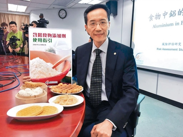 ■楊子橋建議,市民不要偏食某幾種食物。