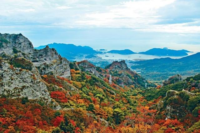 絕色溪谷楓景遊 四國小豆島