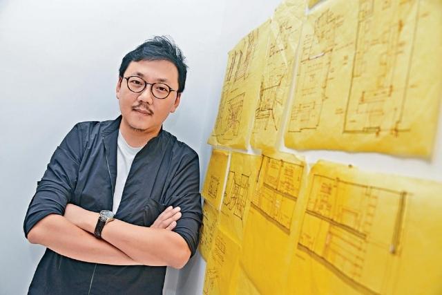 ■Vincent自言是休閒餐飲室內設計專家。