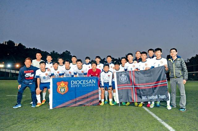 拔萃男書院勇奪學界港九區第一組男子甲組足球冠軍。