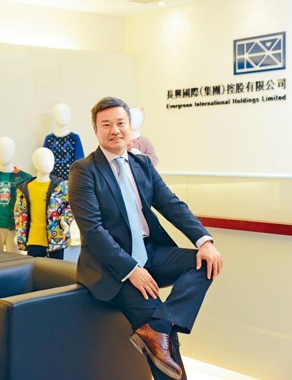 長興國際主席陳育明料明年童裝比重持續提升。
