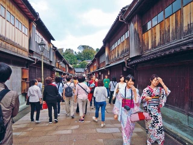 寫意漫遊 金沢東茶屋街