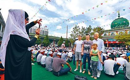 中央要求嚴防寧夏等地伊斯蘭教「阿拉伯化」。圖為寧夏銀川清真大寺。