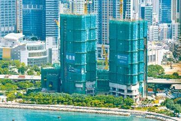 市場消息指,荃灣西站柏傲灣已獲批預售,料於短期內出擊。