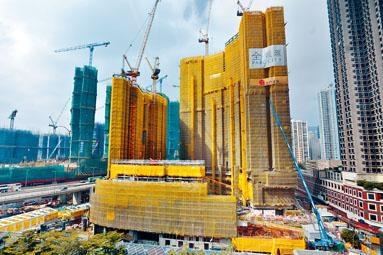 華懋荃灣西站項目全‧城,預期第2季推售。