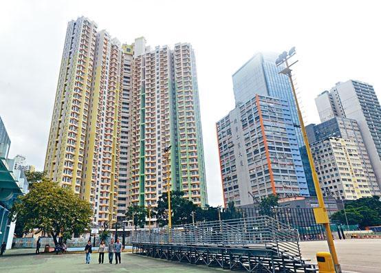 首個綠表置居先導計畫位於新蒲崗的景泰苑今日開始揀樓。