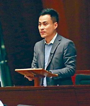 郭偉強提出《對下任特首期望》無約束力議案。