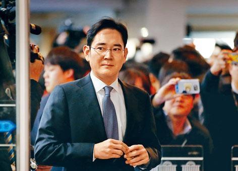 三星副會長李在鎔去年十二月曾出席國會聽證會。