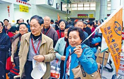 民進黨上台後,去年大陸赴台旅客數目減少。