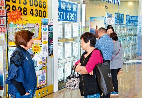 稅務局公布,其中上月住宅從價印花稅成交量跌84%。