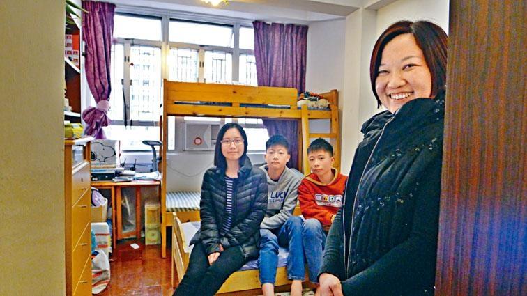 「光房計畫」推出至今,已有一百四十個家庭受惠。