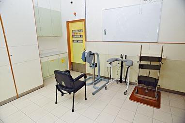 為配合較年長或體能較差的院友需要,宿舍內將設有復康設備。