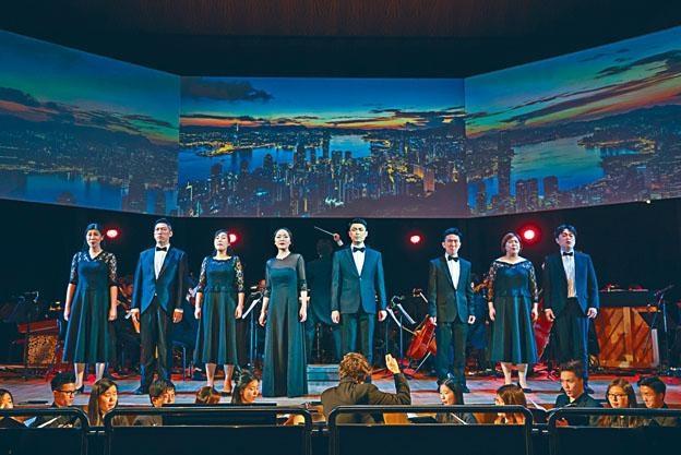 《世紀.香港》音樂會,擷取數十首十九世紀末至今的中港及外國詩歌為歌詞。