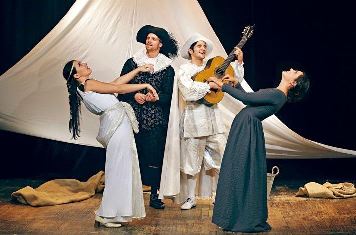 《司卡班的詭計》(《Les Fourberies de Scapin》)是向十七世紀法國古典主義喜劇大師莫里哀致敬的作品。