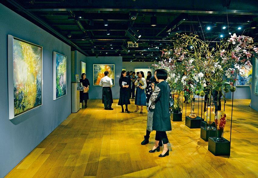 《化境──張朱秋慧作品展售會》是香港蘇富比藝術空間今年首個展覽。
