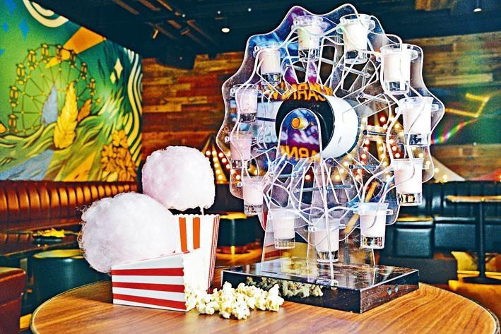 Ferris Wheel味道甜美,士多啤梨酒的酸香最為突出,令伏特加的甘香變得平順易入口。