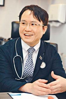 呼吸系統科專科醫生吳健聰。