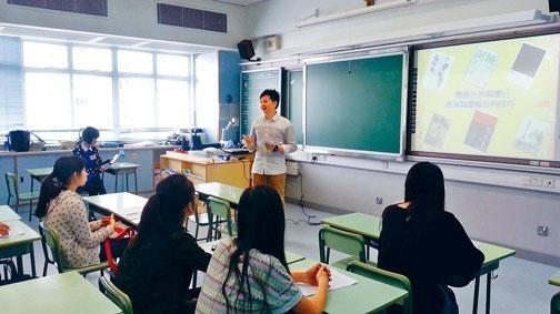 聖保羅書院中文科主任顏加興,過往常參與中文培訓班,下月將首次舉辦小學家長中文教育研習班。