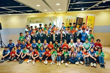 「才能展現 起動傳愛」青年領袖計畫在上周五舉行啟動禮。
