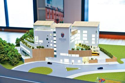 思貝禮國際學校位於將軍澳,將於明年八月開校。