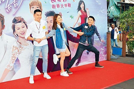 黃浩然因為拍《我瞞結婚了》,跟洪永城及黃翠如成為好友。