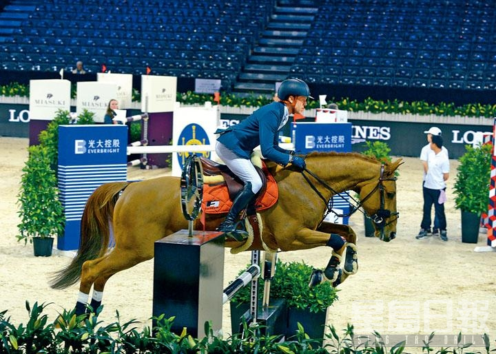 自小與馬結緣,現更在家鄉擁有自家馬房,Simon Delestre自言十分享受與馬共處的快樂時光。