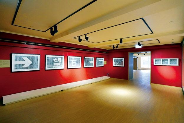 《印象相傳:香港新版畫》展覽現場。
