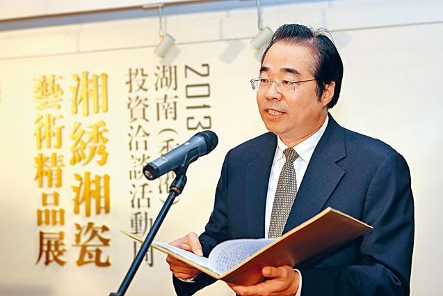 湖南省人大副主任許又聲接掌國務院僑務辦公室。