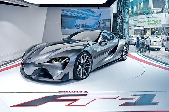 FT-1概念跑車將公開展出至5月初。