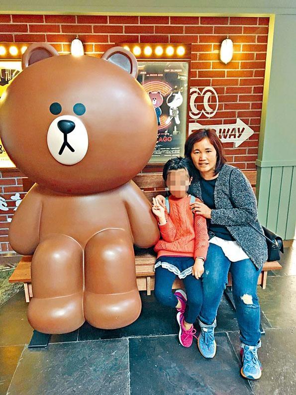 鄧桂思上周幸獲女文員鄭凱甄,慷慨捐出三分二肝臟救命。
