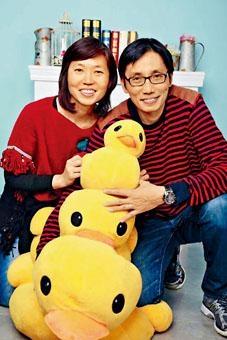 等待換心的單志華過往身體健康良好,與妻子度過不少甜蜜時光。