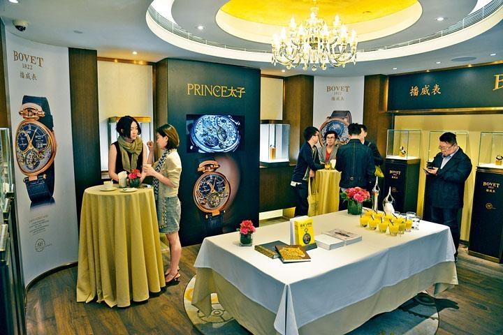 太子珠寶鐘錶的多元化零售概念,經常引入不少珍罕腕表品牌,Bovet便是其中之一。