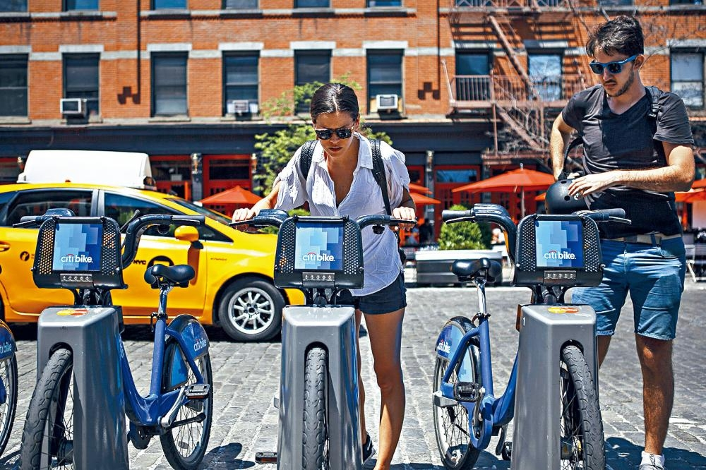 Motivate建議全市增加6000架「Citi Bike」單車。Christopher Lee/紐約時報