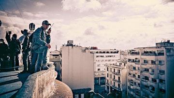 林超賢導演帶領專業團隊前往摩洛哥拍攝。