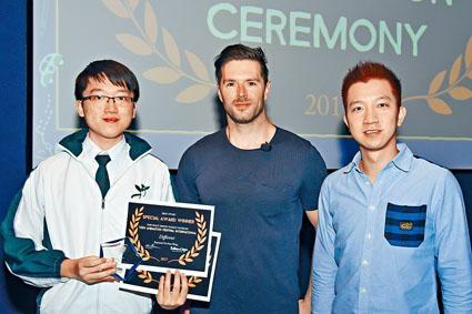 中六生王耀南的作品在美國華特迪士尼國際青少年動畫節獲獎。