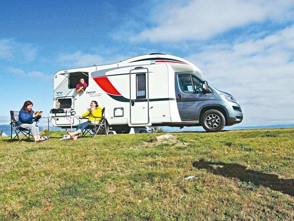 在紐西蘭露營車是挺便捷的旅遊良伴。