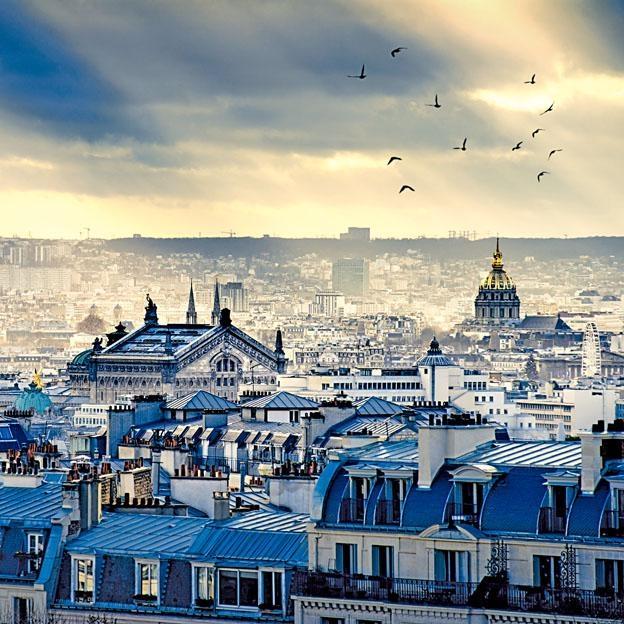 從全新角度俯瞰巴黎景色。