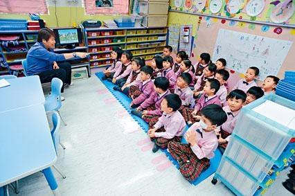 教大幼兒教育繼續成熱門課程,平均一百一十七人爭一位。