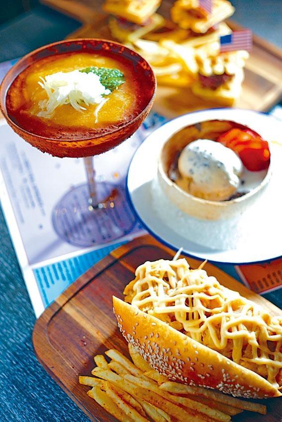 Pearl Harbour,港式甜品楊枝甘露加入Tiramisu糖漿及酒調製,味道香甜,面層灑上朱古力粉,口感豐富。