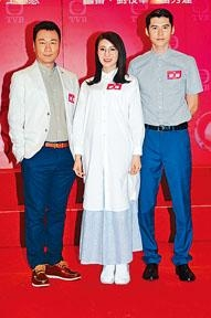 陳家樂首次為無綫拍劇,即有幸跟黎耀祥及林夏薇合作。