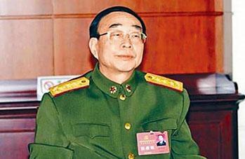 前總政副主任張樹田上將證實受查。