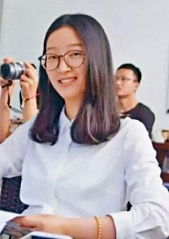 中國訪問學者章瑩穎傳已遇害。