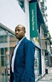 在香港推廣非洲藝術的Lee Garakara。