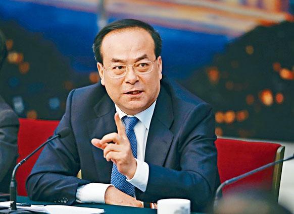 孫政才昨被免去重慶市委書記職務。