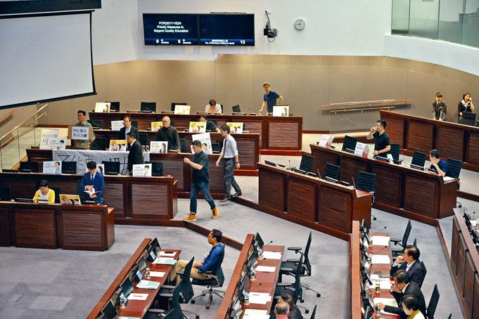 教協昨日去信全體議員,呼籲盡早通過教育撥款。